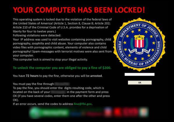 Ransomware (källa: Symantec)