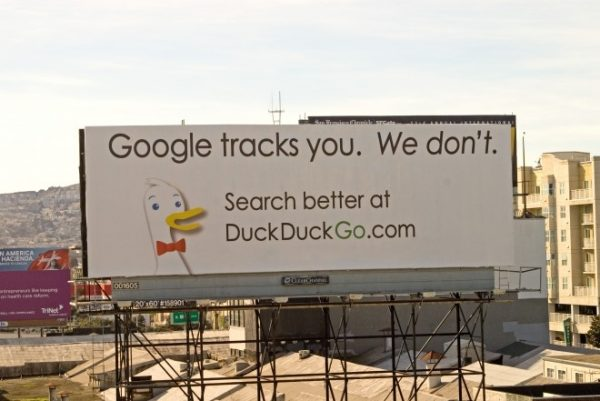 DuckDuckGo bllboard (pic: Wired.com)
