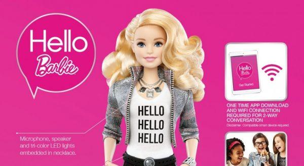 Internet-anslutna leksaker: Hello Barbie