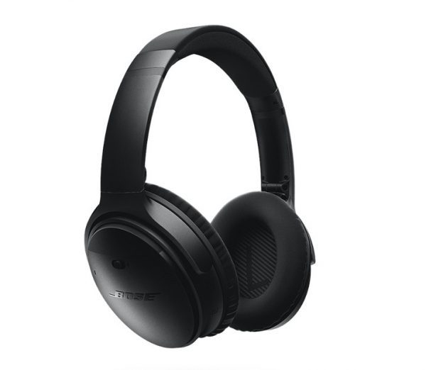 Spying headphones? Bose QuietComfort 35.