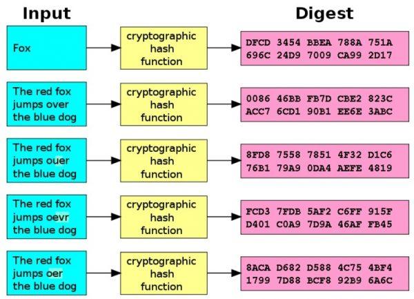 """""""Hashad"""" text. Allstå text som körts igenom en kryptografisk hashfunktion (mera specifikt SHA-1)"""